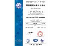 9001管理认证